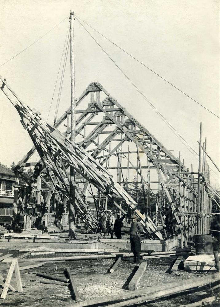 工事写真ー1950年頃